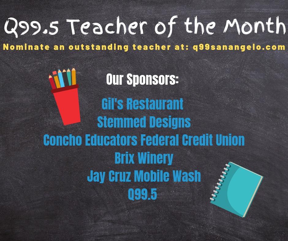 Teacher Of The Month Q995